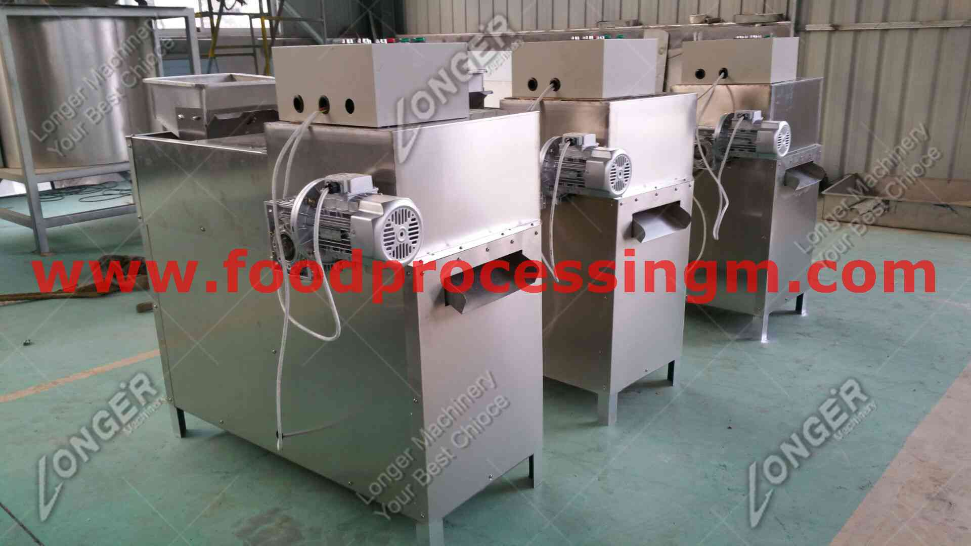 commercial almond strip cutting machine
